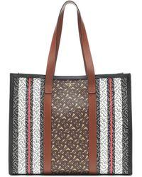 Burberry Branded Shoulder Bag Brown