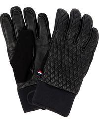 Fusalp Athena Leather Gloves - Black