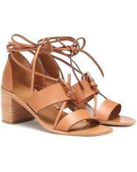 Zimmermann Leather Sandals - Brown