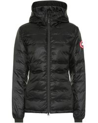 Canada Goose Camp Hooded Down Jacket - Black