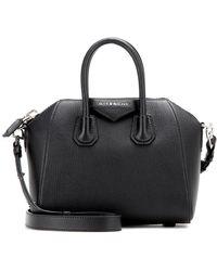 Givenchy Borsa Antigona Mini in pelle - Nero