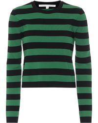 Veronica Beard - Broome Striped Sweater - Lyst