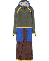 Marni Reversible Hooded Raincoat - Green