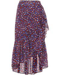 Ulla Johnson - Gretchen Cotton And Silk-blend Skirt - Lyst