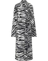 Dries Van Noten - Zebra-print Coat - Lyst
