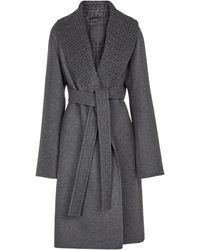Givenchy Wool And Cashmere Coat - Grey