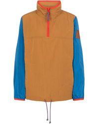 Tory Sport Colour Blocked Jacket - Blue