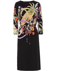 Etro - Abito a stampa in jersey - Lyst