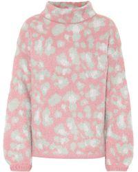 81hours Melissa Mohair-blend Sweater - Pink