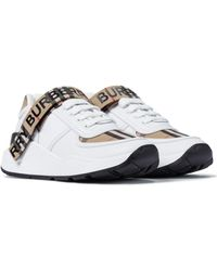 Burberry Leather Sneakers - Multicolour