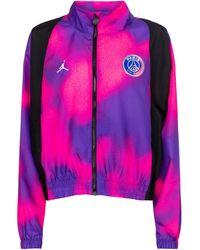 Nike Felpa sportiva Jordan Paris Saint-Germain - Viola