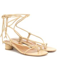 LOQ Dora Leather Sandals - Multicolour