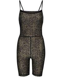 The Upside Leopard-print Jumpsuit - Multicolour