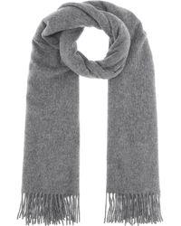 Acne Studios Canada New Wool Scarf - Grey