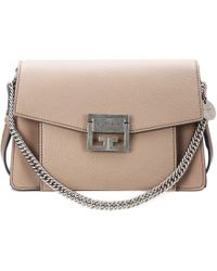 5a64f68842f4 Givenchy Pandora Box Mini Leather Shoulder Bag in White - Lyst