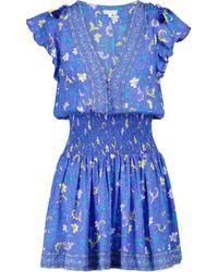 Poupette Exclusive To Mytheresa – Rachel Floral Minidress - Blue