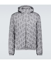 Givenchy Thermo-welded Windbreaker - Metallic