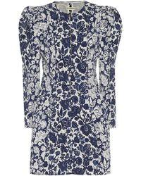 Ulla Johnson Wren Floral Denim Dress - Blue