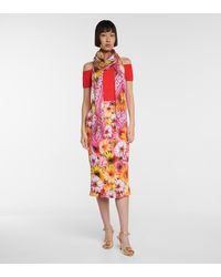 Dolce & Gabbana Pañuelo de modal y cachemir floral - Multicolor