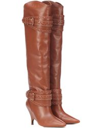 Zimmermann Leather Boots - Brown