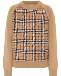 Burberry - Pullover aus Wolle - Lyst
