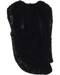 Jil Sander Open-knit Jumper - Black