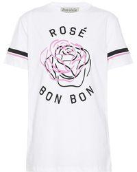 Être Cécile - T-shirt Rosé Bon Bon in cotone - Lyst