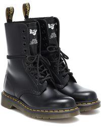 Marc Jacobs - X Dr. Martens Ankle Boots aus Leder - Lyst