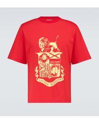 Wales Bonner Johnson Crest T-shirt - Red