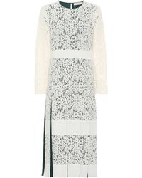 Tory Burch Cotton-blend Lace Dress - White