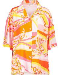 Emilio Pucci Bedrucktes Hemd - Pink