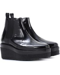 Pierre Hardy Platform ankle boots - Negro