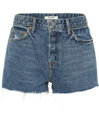 GRLFRND Jeansshorts Cindy - Blau