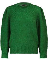 Isabel Marant Emma Mohair And Wool-blend Jumper - Green