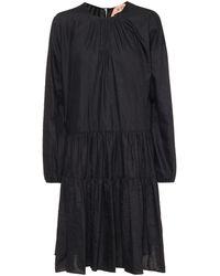 N°21 Robe en coton mélangé - Noir