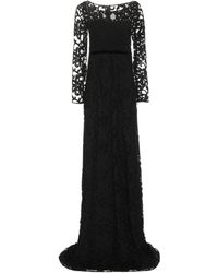 Burberry - Embroidered Cotton-blend Tulle Gown - Lyst