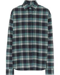 RTA Brady Checked Cotton Shirt - Multicolour