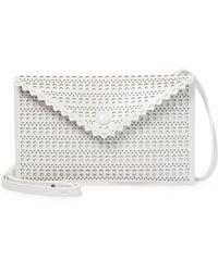 Alaïa Louise 20 Small Leather Crossbody Bag - Multicolour