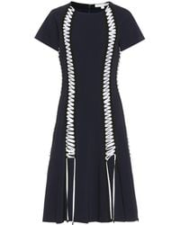 Jonathan Simkhai - Dress With Lace-up Detailing - Lyst
