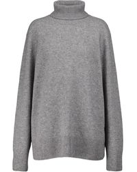 The Row Jersey Stepny de lana y cachemir - Gris