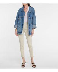 J Brand Jeans skinny cropped Alana - Neutro