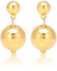 Sophie Buhai Aretes Ball Drop con baño en oro de 18 ct - Multicolor