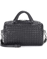 Bottega Veneta - Intrecciato Leather Crossbody Bag - Lyst
