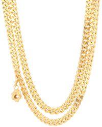 Elhanati Jessie 24kt Gold-plated Necklace - Metallic
