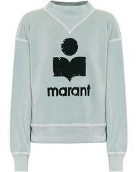 Étoile Isabel Marant Sweatshirt Moby - Grün