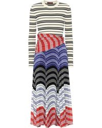 Altuzarra Woodbine Striped Midi Dress - Multicolour