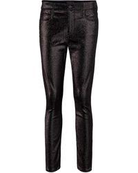 RTA High-Rise Skinny Jeans Madrid - Schwarz