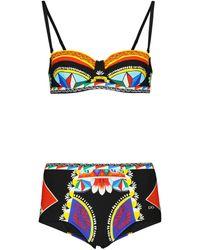 Dolce & Gabbana Bikini con stampa - Multicolore