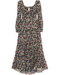 RIXO London Cameron Printed Cotton Maxi Dress - Multicolor
