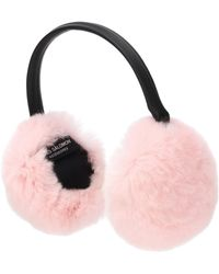 Yves Salomon - Fur Ear Muffs - Lyst
